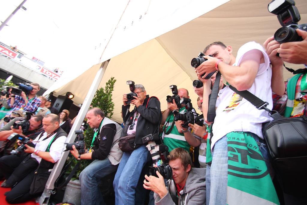 Fotografenmeute